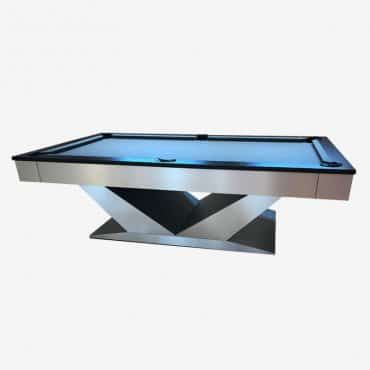 "The ""V"" Pool Table"