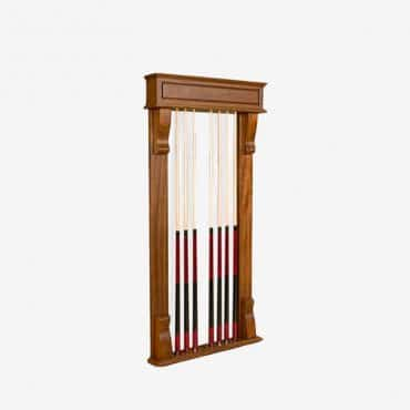 Traditional Cue Wall Rack