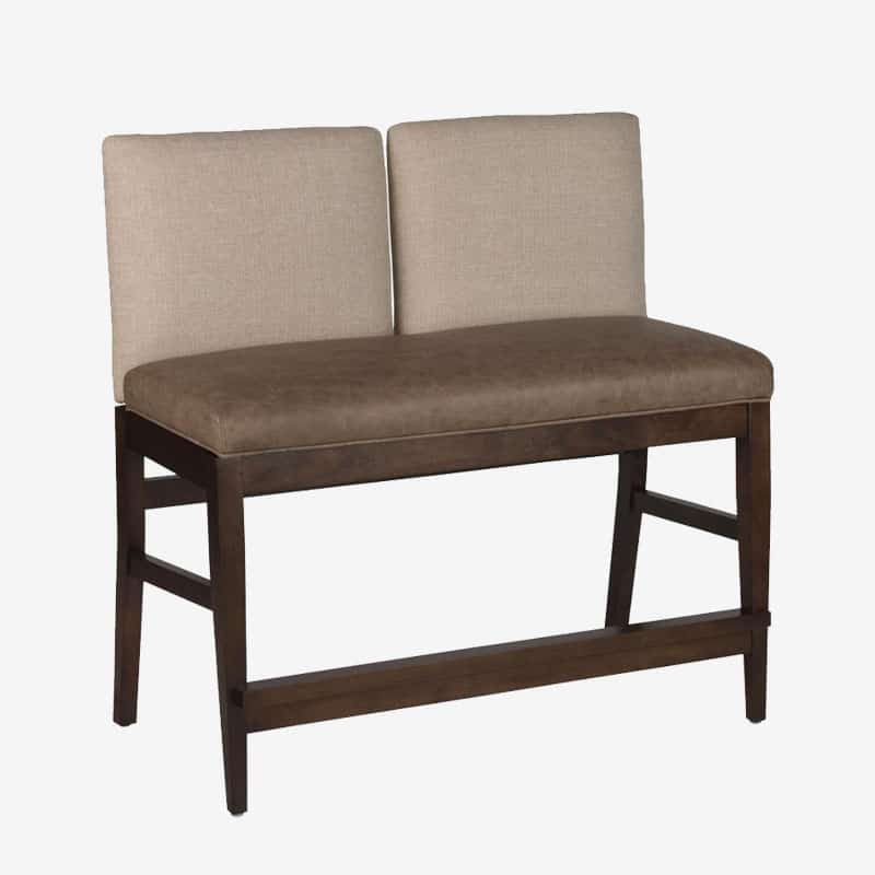 Roncy Flexback Two Seater Bench