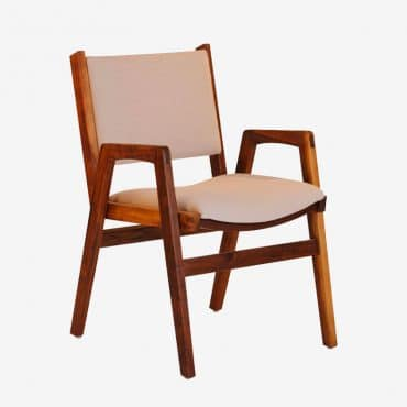 Spencer Stacking Chair – Walnut